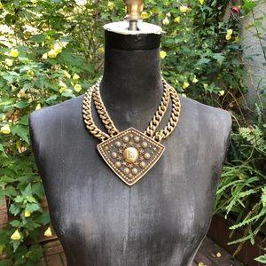 Vintage Givenchy Gold Statement Necklace